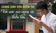 Xúc động câu chuyện của chàng sinh viên khiếm thị với ước mơ vươn ra biển lớn
