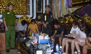 Gần 100 cảnh sát đột kích quán karaoke, phát hiện 32 đối tượng dương tính ma túy