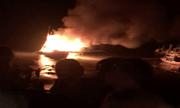 Tàu cá nổ như bom ở Thanh Hóa, khiến 2 người thiệt mạng, 1 người mất tích