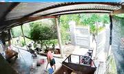 Phú Yên: Camera ghi cận cảnh nghi phạm chém hàng xóm tử vong ngay trong sân nhà