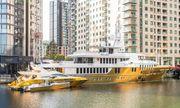 Cận cảnh siêu du thuyền bọc vàng lớn nhất thế giới, có giá gần 500 tỷ