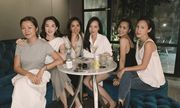 Hiếm khi chụp chung hình, Tăng Thanh Hà và Đặng Thu Thảo so kè sắc đẹp
