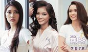 Lộ diện 10 người đẹp đầu tiên lọt vào Top 60 Hoa hậu Hoàn vũ 2019