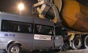 Hà Nội: Xe ô tô đưa đón học sinh của trường Gateway va chạm với đuôi xe bồn