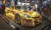 Chói mắt với những món đồ bọc vàng xa xỉ của giới nhà giàu