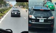 Hé lộ danh tính chủ nhân xe Lexus ngang ngược chặn đường xe cứu hỏa
