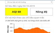 Mưa lớn kéo dài, chỉ số chất lượng không khí của Hà Nội