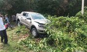 Hà Tĩnh: Sau cú va chạm kinh hoàng với xe bán tải, cặp vợ chồng tử vong tại chỗ