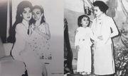 Danh ca Hương Lan chia sẻ ảnh hiếm thuở nhỏ chụp cùng cố nghệ sĩ Thanh Nga