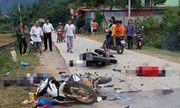 Tin tức tai nạn giao thông mới nhất hôm nay 10/10/2019: Va chạm kinh hoàng giữa 2 xe máy, 5 người thương vong