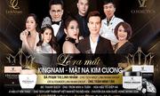 Hoa hậu doanh nhân Phạm Thị Linh Nhâm sánh vai cùng MC Thanh Bạch, ông trùm mạng xã hội A Tuân tại lễ ra mắt KINGNAM- mặt nạ ngủ kim Cương