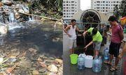 Hà Nội: Mùi khét trong nguồn nước là do dầu thải, khuyến cáo người dân không dùng để nấu ăn