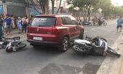 TP.HCM: Nữ tài xế ô tô tông hàng loạt xe máy của phụ huynh chờ đón con trước cổng trường