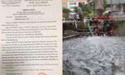 Súc xả bể chứa, công ty nước sạch Sông Đà dừng cấp nước vô thời hạn