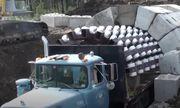 Mục sở thị cảnh xe tải xây 400m đường hầm chỉ trong một ngày