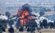 Thị sát hiện trường nơi Mỹ ném bom tự phá hủy hủy căn cứ ở Syria trước khi rời đi