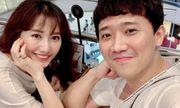 Trấn Thành nói gì về việc Hari Won vắng mặt trong sinh nhật mẹ chồng?