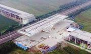 Trung Quốc lập kỷ lục xoay cây cầu nặng gần 20.000 tấn ở góc 90 độ