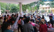 Hiện trường vụ học sinh lớp 2 nghi bị điện giật tử vong ở Hà Nội