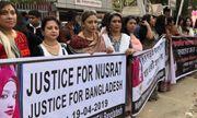 Tử hình 16 người liên quan đến vụ thiêu sống nữ sinh tố thầy giáo quấy rối tình dục ở Bangladesh