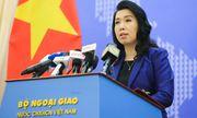Bộ Ngoại giao lên tiếng về thông tin nhóm tàu Hải Dương 8 của Trung Quốc rút khỏi vùng biển Việt Nam