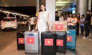 Á hậu Tường San rạng rỡ lên đường sang Nhật Bản tham dự Miss International 2019