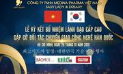 Lễ kí kết bổ nhiệm lãnh đạo cấp cao- Gặp gỡ đối tác chuyển giao công nghệ Hàn Quốc của Công ty TNHH Medina Pharma Việt Nam