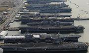 Tin tức quân sự mới nóng nhất ngày 30/10: 6 tàu sân bay Mỹ đột nhiên đồng loạt 'đắp chiếu'
