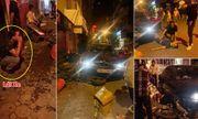 Hiện trường vụ xe BMW gây tai nạn liên hoàn trên phố Hà Nội lúc rạng sáng