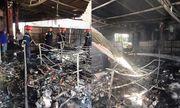 Nghệ An: Cháy cửa hàng tạp hóa lúc giữa trưa, thiệt hại gần 2 tỷ đồng