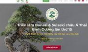 TP. HCM: Chỉ đạo việc treo băng rôn tuyên truyền Lễ hội Bonsai và Suiseki Châu Á Thái Bình Dương theo đúng quy định