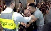 Tấn công dao giữa cuộc biểu tình, nhiều người bị thương