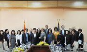 Thứ trưởng Trương Quốc Cường làm việc với Phó Giám đốc Cơ quan Phát triển quốc tế Hoa Kỳ