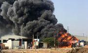 Trẻ nướng khoai bất cẩn gây cháy cả xưởng phế liệu gần 600 m2