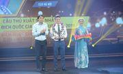 Tin tức thể thao mới nóng nhất ngày 7/11/2019: Quảng Hải đoạt giải Cầu thủ xuất sắc nhất V-League