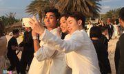 Video: Ngô Thanh Vân nhận được hoa cưới của Đông Nhi
