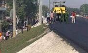 Hà Nội: Người đàn ông bị xe lu cán qua người, tử vong tại chỗ