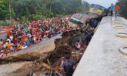 Hai tàu hỏa đâm nhau kinh hoàng, ít nhất 16 người thiệt mạng
