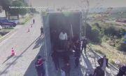 Lại phát hiện xe tải chở 82 người nhập cư trái phép tại Thổ Nhĩ Kỳ