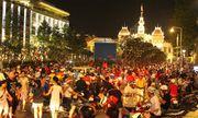 Phố đi bộ Nguyễn Huệ lắp 5 màn hình LED