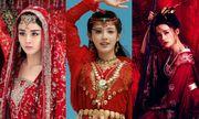 Mỹ nhân cổ trang Hoa ngữ đọ sắc với váy đỏ: Người xinh đẹp diễm lệ, kẻ