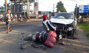 Bị kéo lê dưới gần xe ben, một người tử vong sau tai nạn liên hoàn