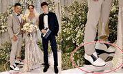Chồng Bảo Thy đi giày độn đế hơn 10 cm để xứng với vợ?