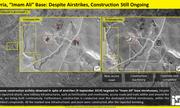 Hình ảnh vệ tinh hé lộ việc nâng cấp căn cứ quân sự của Iran dọc biên giới Iraq-Syria