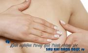 Kinh nghiệm trong quá trình chăm sóc sau nâng ngực bạn cần biết