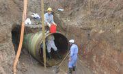 Đường ống dẫn nước sạch sông Đà lại gặp sự cố, 6 vạn dân Hà Nội bị ảnh hưởng