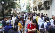 Bầu cử cấp quận tại Hong Kong: Phe dân chủ giành chiến thăng áp đảo