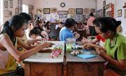 Ngưỡng mộ người phụ nữ nghèo bán đất mở trung tâm dậy nghề từ thiện