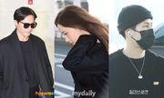 Sao Hàn mặc đồ đen, mặt buồn khi ra sân bay sang Việt Nam dự AAA 2019
