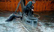 Cận cảnh tàu ngầm chở hàng tấn ma túy xuyên Đại Tây Dương bị bắt giữ